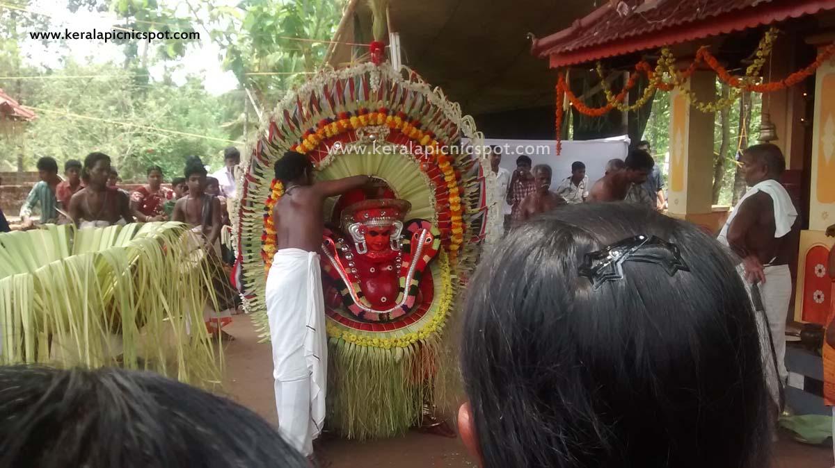 Dhoomavathi Theyyam
