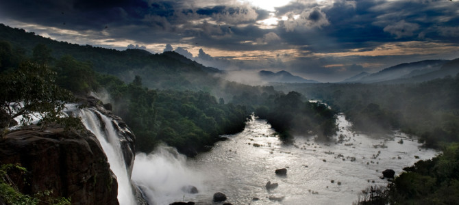 Athirapally and Vazhachal Waterfalls, Thrissur