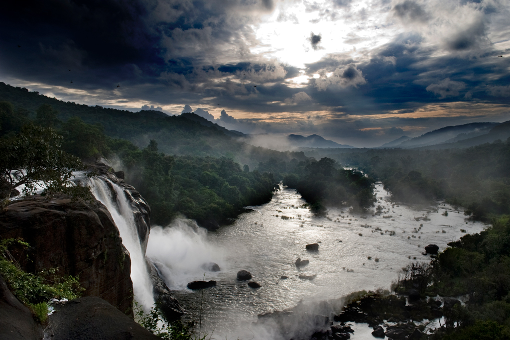 Athirapally Waterfalls-The Niagara of India