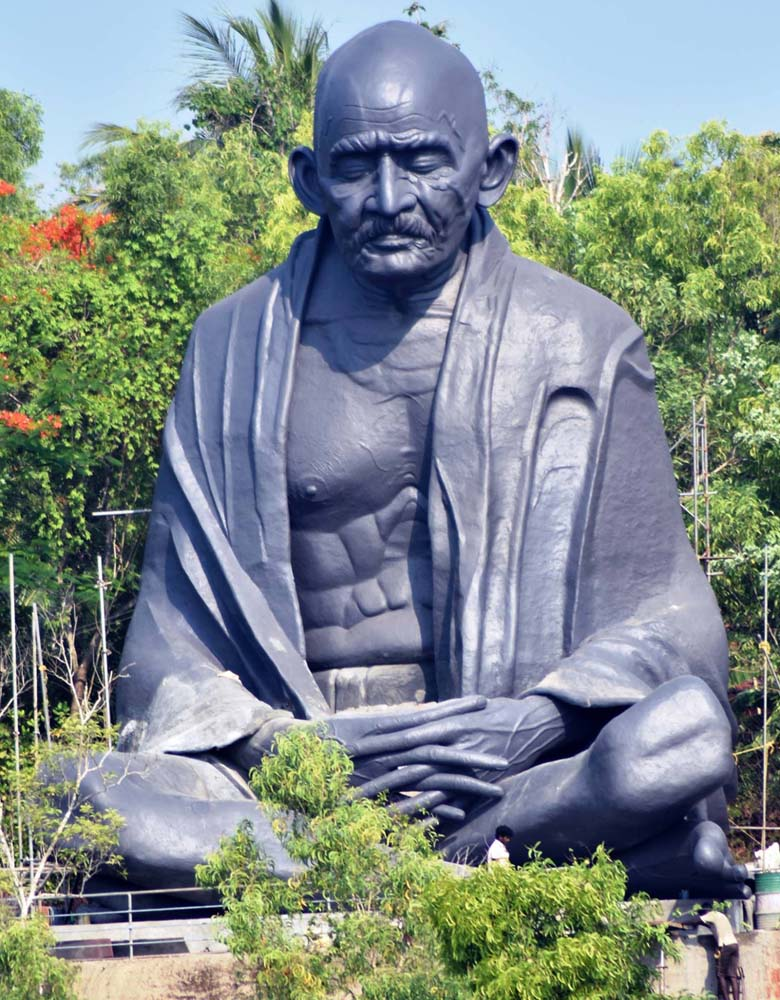 Mahathma Gandhi Statue at Sadhoo Merry Kingdom