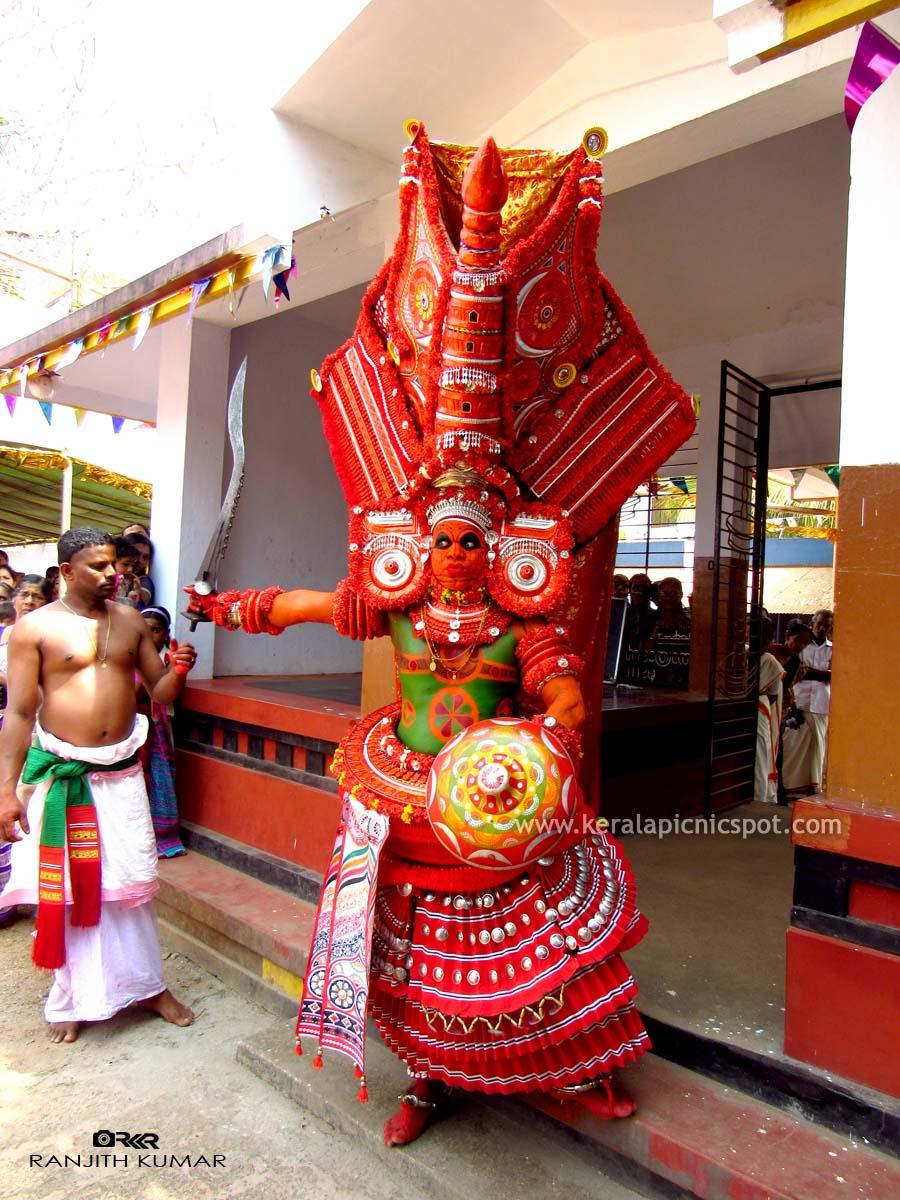 Vairajathan Theyyam or Veerabadran Theyyam
