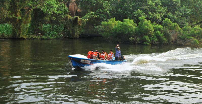 Boating at Malampuzha