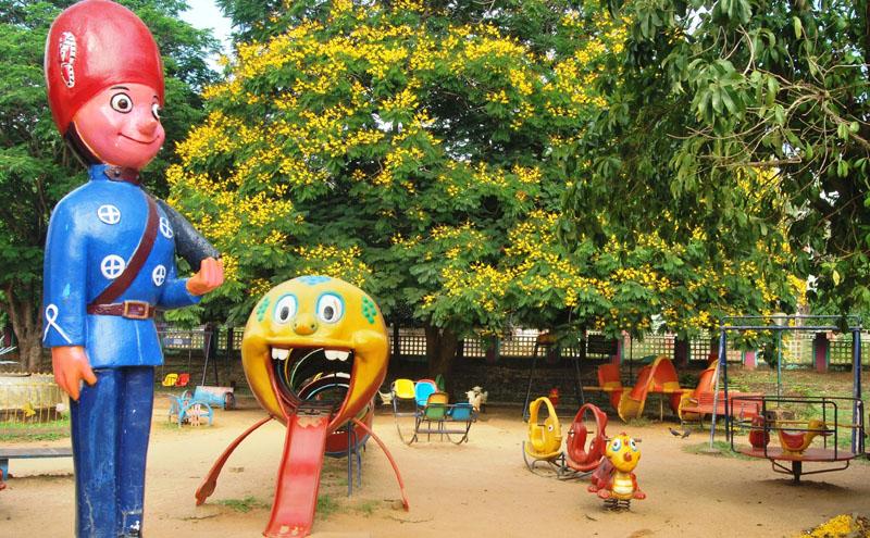 childresns park at malampuzha garden