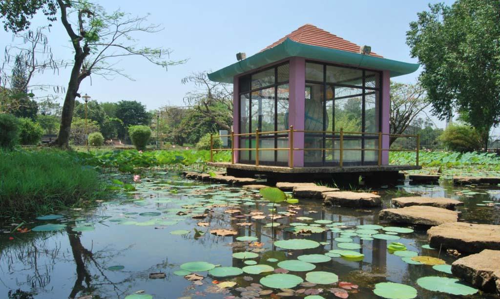 Japanese Park at Malampuzha