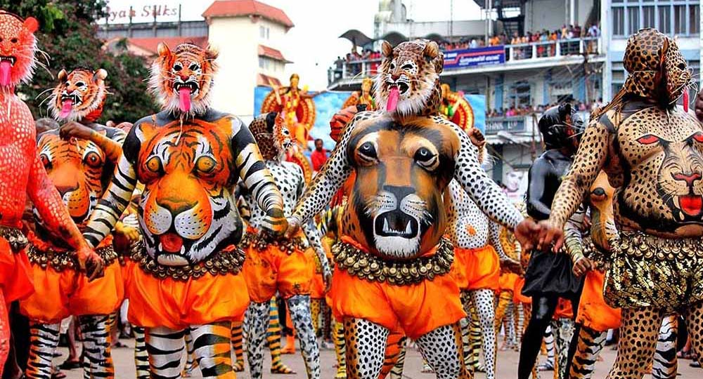 Pulikali The Tiger Dance
